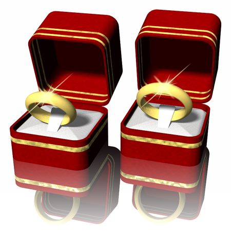 Double rings in red box.