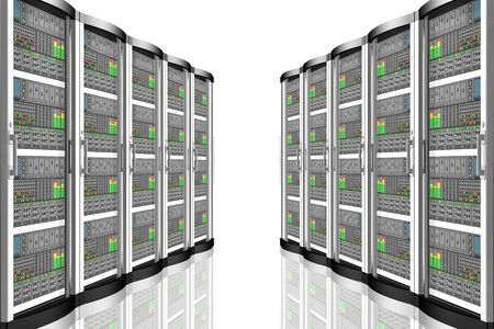 Computer data server. Computer data connection and storage, applications.