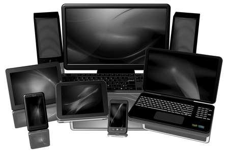 IT equipment: Computers, laptops, smartphones, tablets.