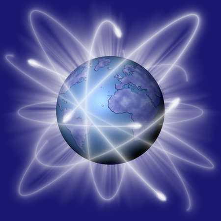 connection orbits around the world