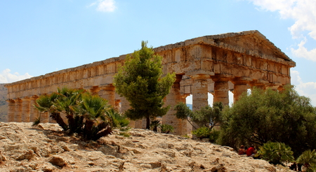 Greek Theater At Segesta, Sicily