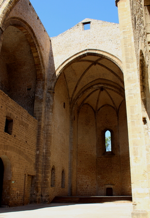 view of the church of Santa Maria Spasimo in Palermo, Italy Archivio Fotografico - 123769898