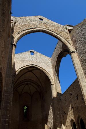 view of the church of Santa Maria Spasimo in Palermo, Italy Archivio Fotografico - 123770078