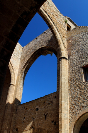 view of the church of Santa Maria Spasimo in Palermo, Italy Archivio Fotografico