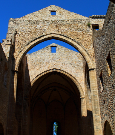 view of the church of Santa Maria Spasimo in Palermo, Italy Archivio Fotografico - 123770113