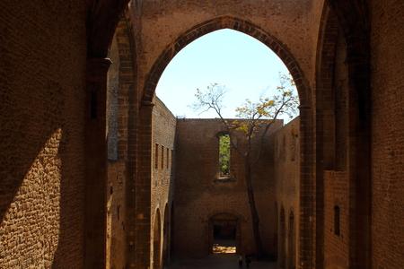 view of the church of Santa Maria Spasimo in Palermo, Italy Archivio Fotografico - 123770129