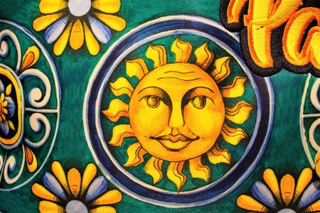 image depicting the sun smiling to represent the solar Sicily in Italy