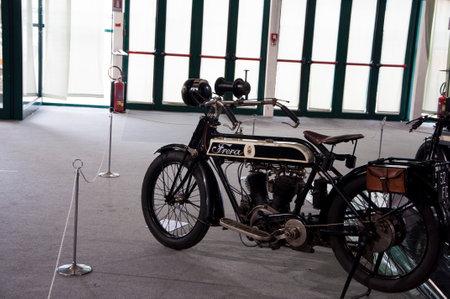 means of transportation: old motorcycle frera pesaro 2013