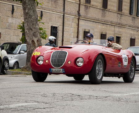 reenactment re enactment: Biondetti Jaguar Special 1950 Editorial