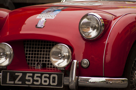 tr: Triumph TR 2 Sports 1954