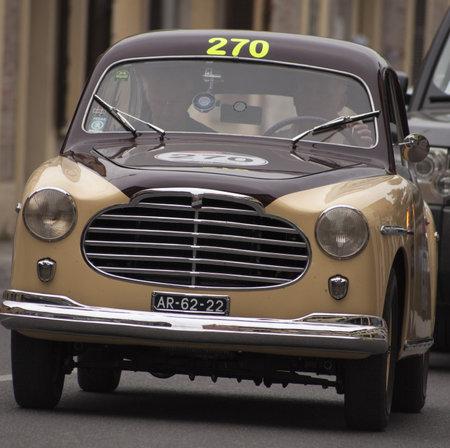 Moretti 750 S berlinetta Alger le Cap 1953 Editorial