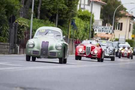 enactment: FIAT 1100 S berlinetta Gobbone 1948