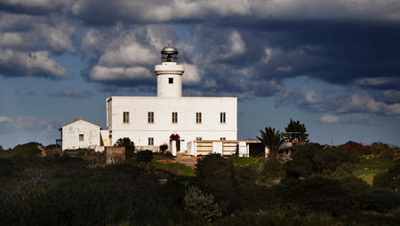 tolerate: lighthouse in Sardinia in the locality  'Head Lighthouse