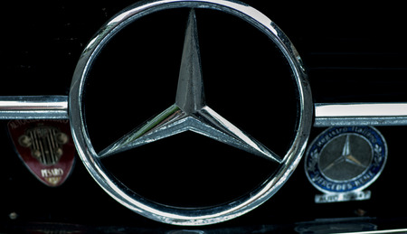 traction engine: Particoalre MERCEDES 50 YEARS