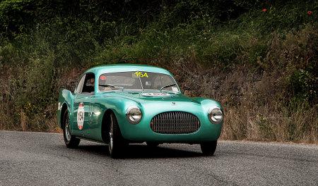 coche antiguo: Cisitalia SC 202 Berlinetta Pinin Farina en 1947