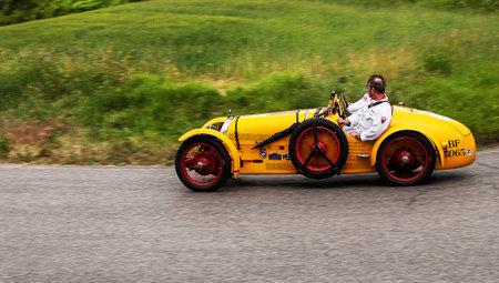 rally car: BNC 527 Grand Sport 1927
