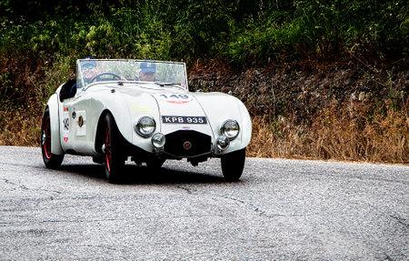 aerodynamic: mille miglia 2015 HRG Aerodynamic W77 1946