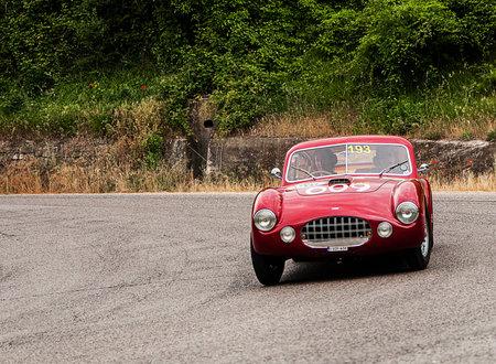 旧車 ERMINI 1100 ベルリネッタ モットー 1950年ミッレミリア 2015