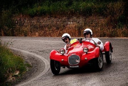 mille: old car GIAUR 750 S 1950 mille miglia 2015