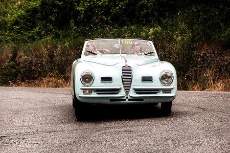 mille: old car ALFA ROMEO 6C 2500 SS 1948 mille miglia 2015