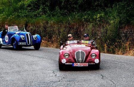mille: old car CARGEM FIAT 508 C Sport 1937 mille miglia 2015