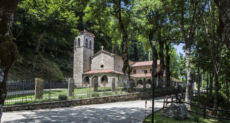 Old Church In carpegna villagrande, Italy