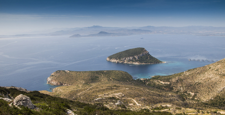 moorish: sardinia italy landscape Figaroli island cove Moorish