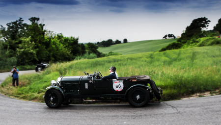 litre: BENTLEY 4.5 Litre Supercharged 1930 Editorial