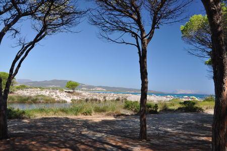 BUDONI Sardinia Italy TANAUNELLA BEACH Stock Photo