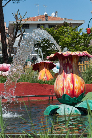 Fiabilandia theme park, rimini theme park, rimini Stock Photo - 101775467
