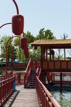 Fiabilandia theme park, rimini theme park, rimini Stock Photo - 101775471