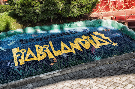 Fiabilandia theme park, rimini theme park, rimini Stock Photo - 101775474