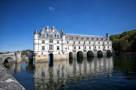 Chateau de Chenonceau, Loire Valley, France Redactioneel