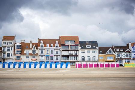 Dunkirk - Malo Les Bains, beach resort of Dunkirk. Nord Pas de Calais, France. Editöryel