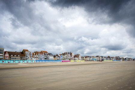 Dunkirk - Malo Les Bains, beach resort of Dunkirk. Nord Pas de Calais, France. Imagens