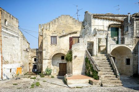 Matera old town, Basilicata, Italy.