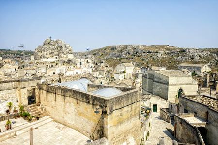 Matera, historic center.  Basilicata, Italy.