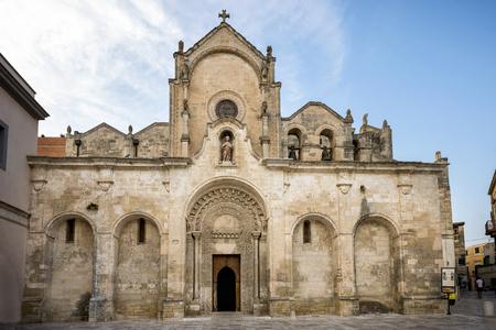 Matera, Basilicata, Italy: the medieval church of St. John the Baptist