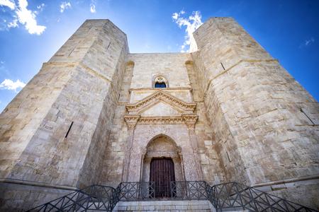 ANDRIA- Castel del Monte, Apulia, southeast Italy.