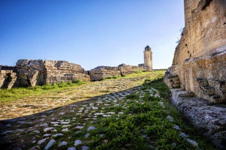 Gravina in Puglia: ancient Madonna della Stella church. Apulia, Italy.
