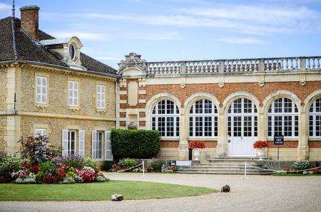 Burgundy, Montrachet. Chateau de Meursault. Cote dOr. france