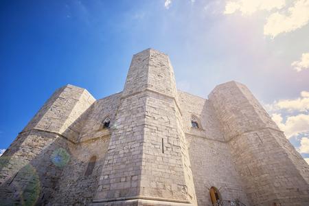 ANDRIA - Castel del Monte, Apulia, southeast Italy. Redactioneel
