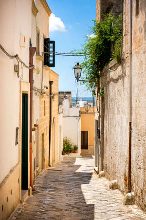 Oria. Door of the Jews. Entrance to the Jewish quarter. Puglia, Apulia, Italy