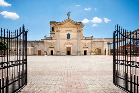 Oria. Sanctuary of San Cosimo alla Macchia. Puglia, Apulia, Italy Editorial
