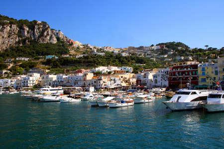 capri: Capri Marina Italy Stock Photo