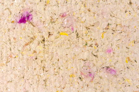 Handmade paper with herbal and floral inclusions