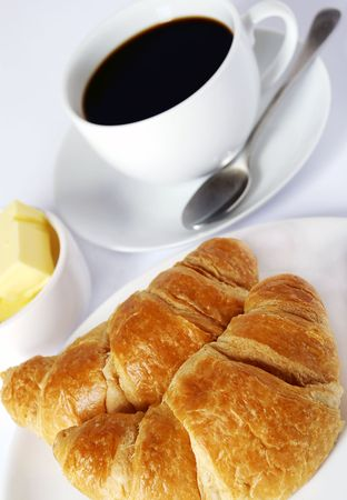 perk: continental breakfast of coffee and croissants