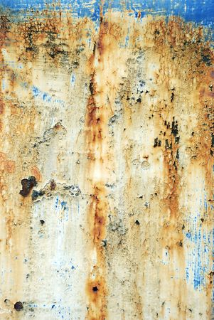 pitted and rusty grunge background