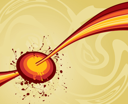 abstract target illustration - vector artwork Stock Vector - 2080147