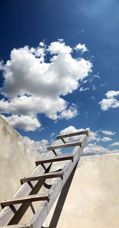 backstairs: Stairs in sky